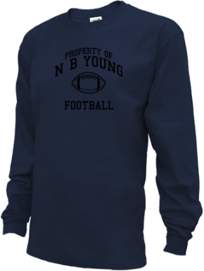 N B Young Middle Magnet School Kid Long Sleeve Shirts