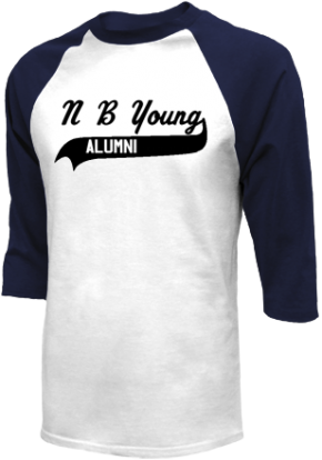N B Young Middle Magnet School Raglan Shirts