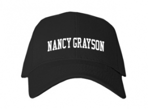 Nancy Grayson Elementary School Kid Embroidered Baseball Caps