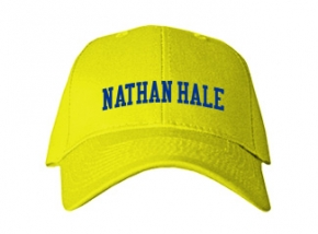 Nathan Hale Middle School Kid Embroidered Baseball Caps