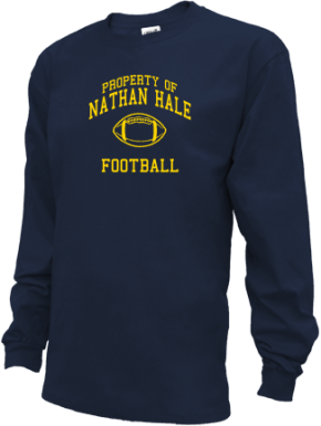 Nathan Hale Middle School Kid Long Sleeve Shirts