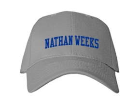 Nathan Weeks Middle School Kid Embroidered Baseball Caps