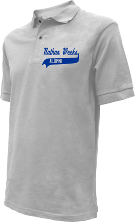 Nathan Weeks Middle School Embroidered Polo Shirts