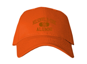 Nelsonville-york High School Embroidered Baseball Caps