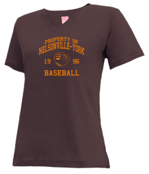 Nelsonville-york High School V-neck Shirts