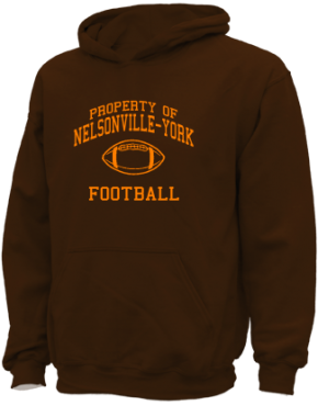 Nelsonville-york High School Kid Hooded Sweatshirts