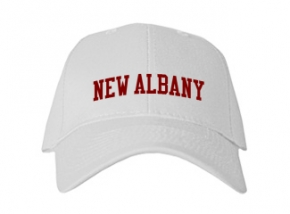 New Albany High School Kid Embroidered Baseball Caps