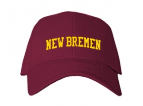 New Bremen High School Kid Embroidered Baseball Caps
