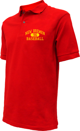 New Bremen High School Embroidered Polo Shirts
