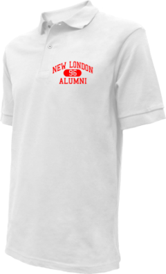 New London High School Embroidered Polo Shirts