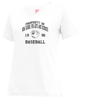 New School For Arts And Sciences High School V-neck Shirts
