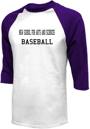 New School For Arts And Sciences High School Raglan Shirts