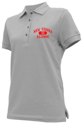 New Vienna Elementary School Embroidered Polo Shirts