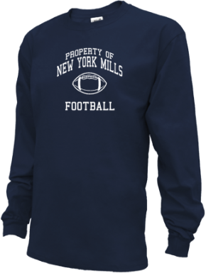 New York Mills High School Kid Long Sleeve Shirts