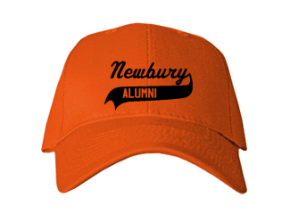 Newbury Elementary School Embroidered Baseball Caps