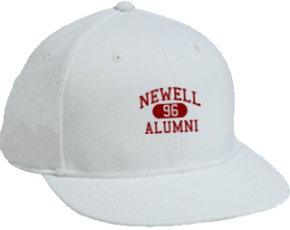 Newell Middle School Flat Visor Caps