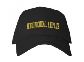 Newton Vocational / N. H. Pilate High School Kid Embroidered Baseball Caps