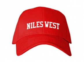 Niles West High School Kid Embroidered Baseball Caps