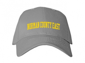Norman County East High School Kid Embroidered Baseball Caps