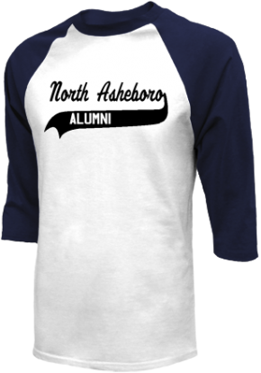 North Asheboro Middle School Raglan Shirts