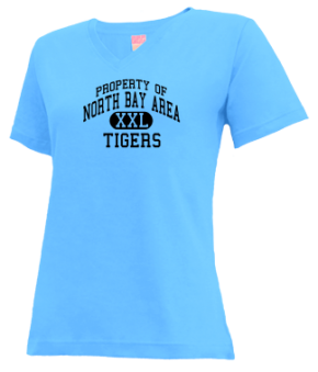 North Bay Area Elementary School V-neck Shirts