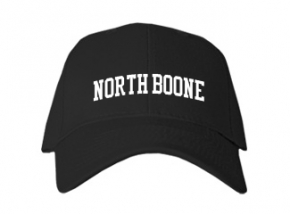 North Boone High School Kid Embroidered Baseball Caps