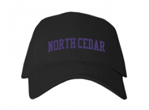 North Cedar High School Kid Embroidered Baseball Caps