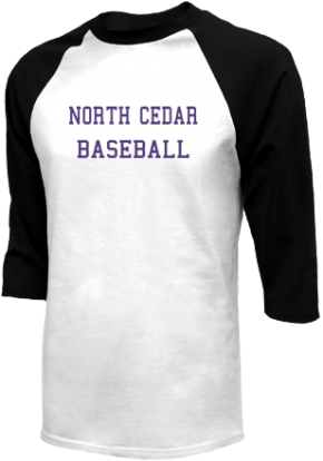 North Cedar High School Raglan Shirts