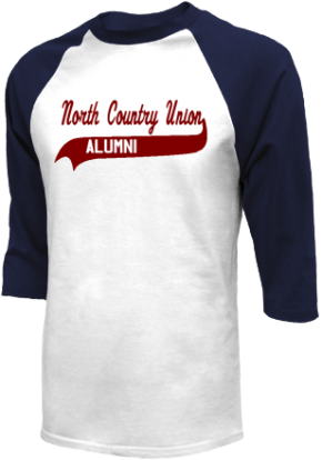 North Country Union Junior High School Raglan Shirts