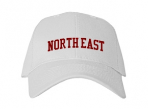 North East High School Kid Embroidered Baseball Caps