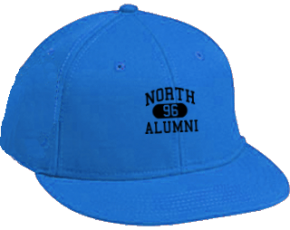 North Elementary School Flat Visor Caps