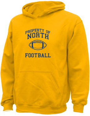 North Elementary School Kid Hooded Sweatshirts