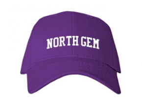 North Gem High School Kid Embroidered Baseball Caps