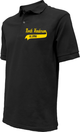 North Henderson High School Embroidered Polo Shirts