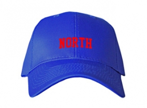 North High School Kid Embroidered Baseball Caps