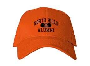 North Hills Elementary School Embroidered Baseball Caps