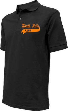 North Hills Elementary School Embroidered Polo Shirts