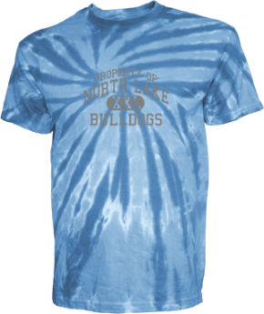 North Lake Middle School Kid Tie-dye T-Shirts