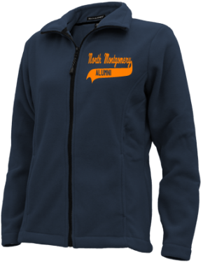 North Montgomery High School Embroidered Fleece Jackets