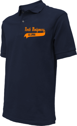North Montgomery High School Embroidered Polo Shirts
