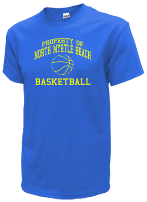 North myrtle beach high school basketball apparel for High school basketball t shirts