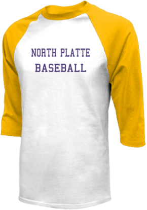 North Platte High School Raglan Shirts