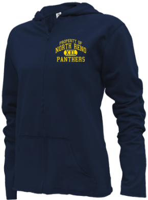 North Reno Junior High School Girls Zipper Hoodies