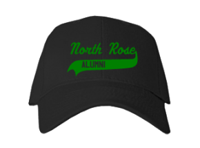 North Rose Elementary School Embroidered Baseball Caps