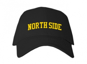 North Side Elementary School Kid Embroidered Baseball Caps