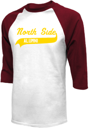 North Side Elementary School Raglan Shirts