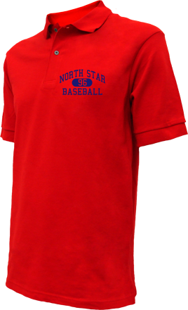 North Star High School Embroidered Polo Shirts
