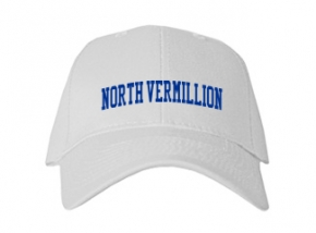 North Vermillion High School Kid Embroidered Baseball Caps