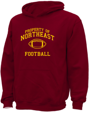 Northeast Elementary School Kid Hooded Sweatshirts
