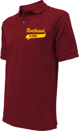 Northeast Elementary School Embroidered Polo Shirts